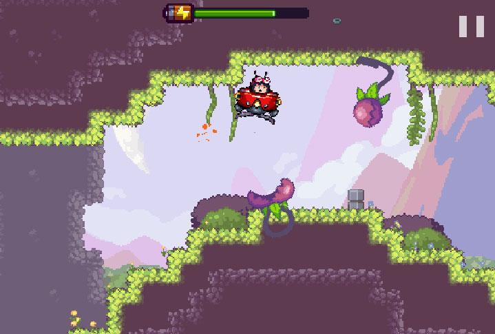 Estas plantas son de los enemigos más complicados del juego. Si nos tocan, estaremos muertos.