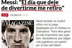 """El Real Madrid le regala a Messi el Metal Gear 4, el Fable 2, las dos secuelas de Matrix, """"Érase una vez en América"""" y un libro de Lucía Etxebarría."""