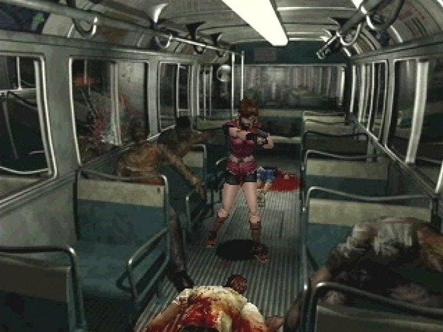 """La película podría titularse """"zombies en el bus""""."""