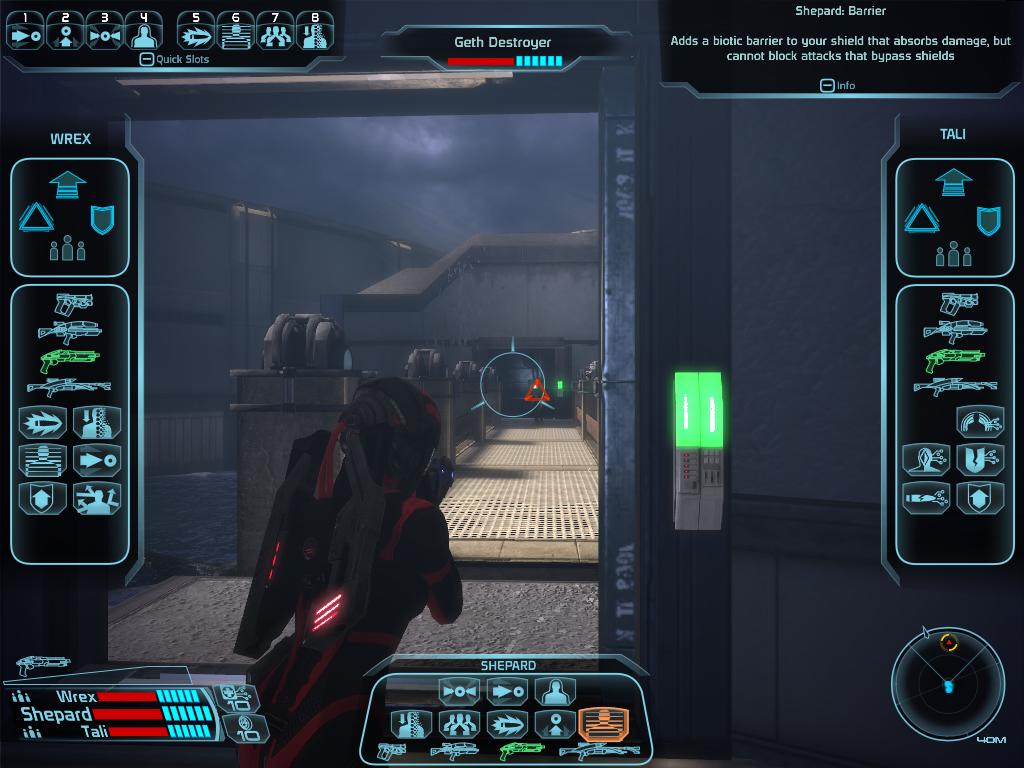 A mi me gustaba más patear traseros enemigos siendo LA comandante Shepard.