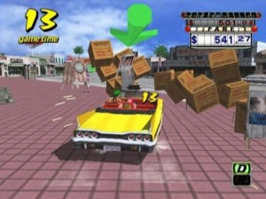 Crazy Taxi Gameplay  dreamcast ps2 xbox gamecube