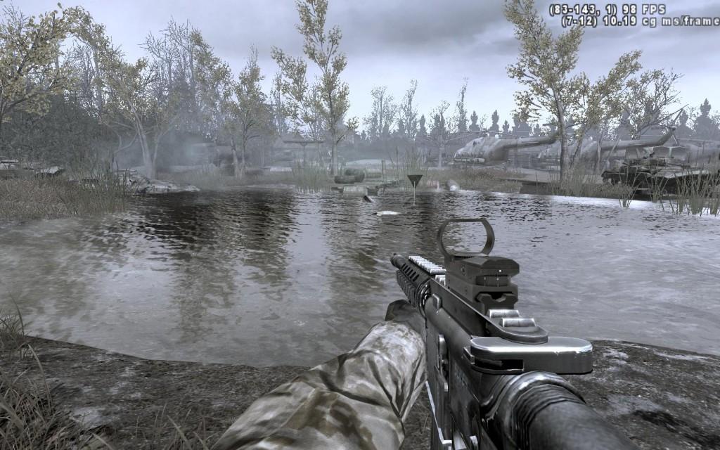 La misión en Pripyat es sin duda de las mejores del juego.