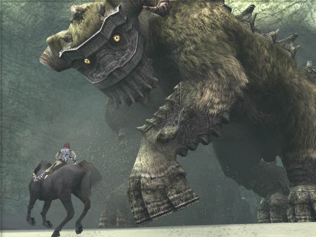 Los colosos son enormes masas de piedra, carne y pelo. Únicos en su diseño, parecen haber sido diseñados sin haber bebido de otras fuentes.