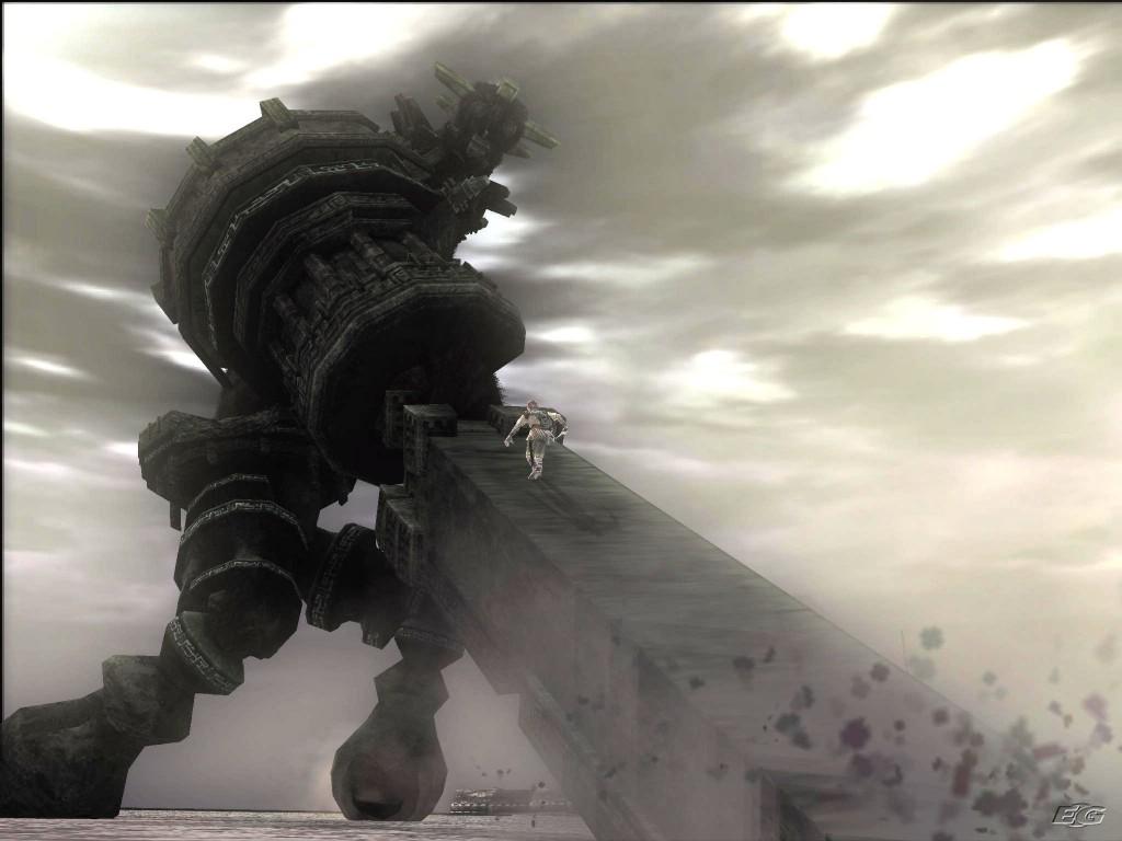 Deberemos utilizar los elementos que nos rodean para engañar a los colosos y poder clavar nuestra espada en sus puntos débiles.