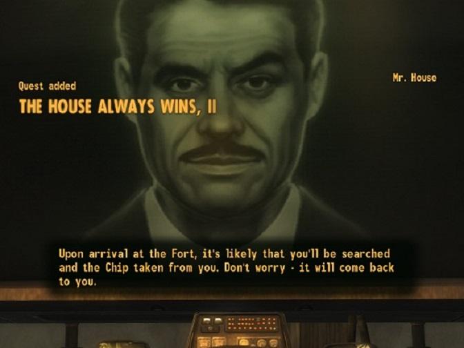 El misterioso Señor House.