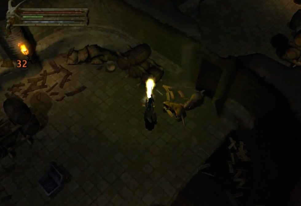 Baldur's Gate: Dark Alliance, ratas