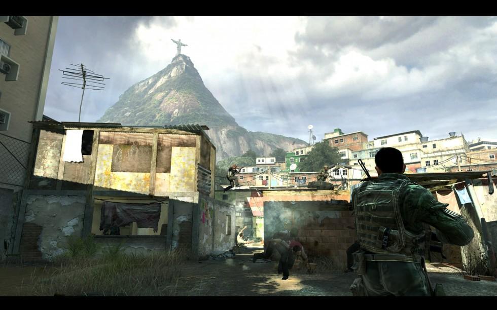 La persecución por la zona de las favelas es memorable, pero aunque creamos que tenemos el control, vamos sobre reíles. Podemos comernos un  bocadillo sin poner pausa y continuar con la misión dos horas después.