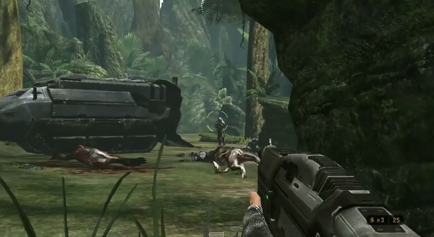 Lo reconozgo: en algunos momentos con dinosaurios y humanos a la vez, al juego se le puede sacar algo.