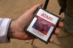 Microsoft encuentra los cartuchos de E.T. enterrados en Nuevo México