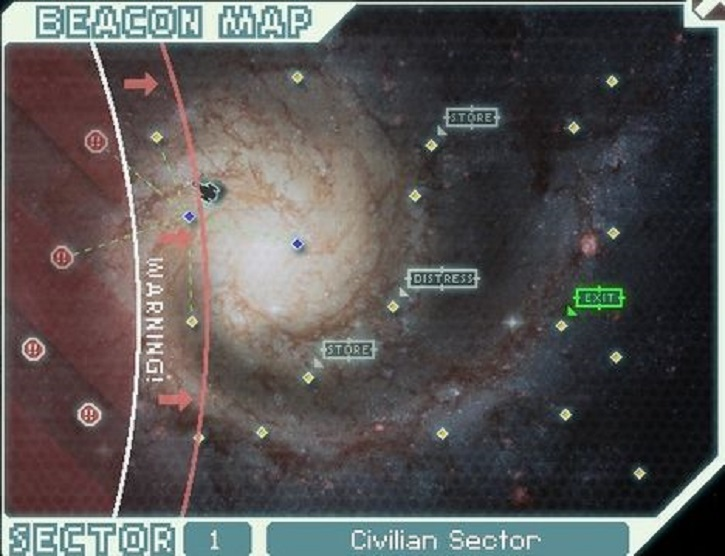Faster Than Light Map