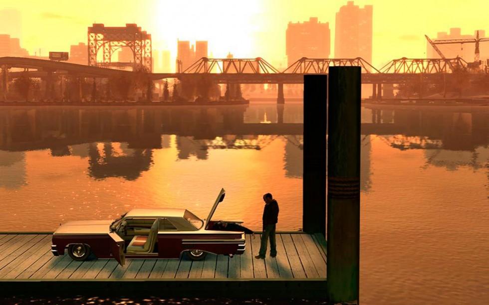 En las aguas de Liberty City hay casi tantos hombres como peces.