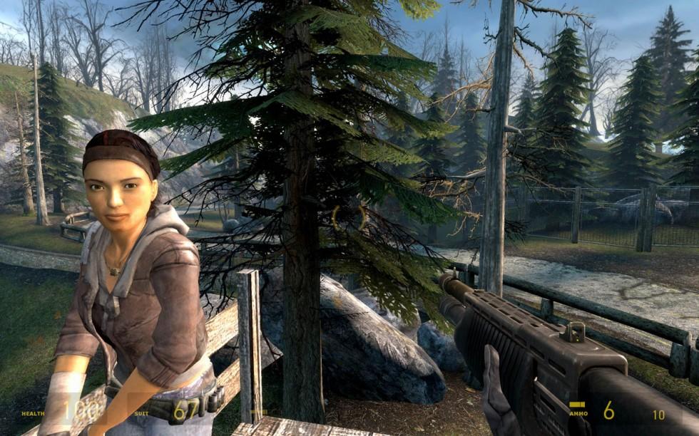 Alyx nos acompañará durante casi todo el recorrido. Freeman lo tiene que pasar muy mal cuando se pone cachondo con el traje HEV encima.