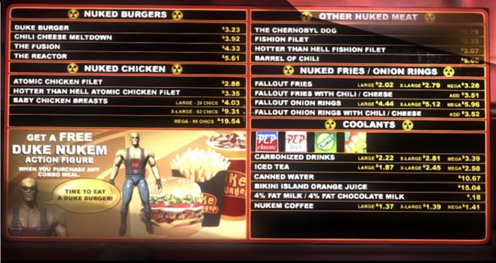 En el momento de redacción de este análisis, me comería unos Baby Chicken Breasts XL con unas Fallout Fries w/ Cheese.