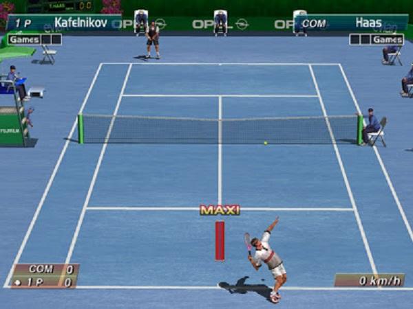 """Como en el tenis de verdad, meter un buen saque en Virtua Tennis da un gustazo que te cagas. Sobre todo si antes de sacar, le dices a tu colega: """"Mira esta ehhhh."""""""