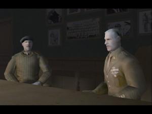 El alto mando aliado