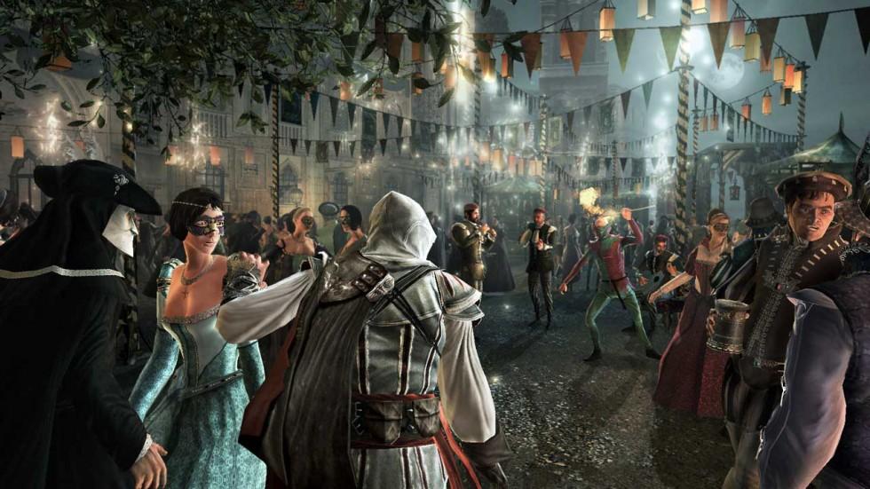Assassin's Creed 2 sería espectacular si se pudiese jugar del mismo modo que se ve.