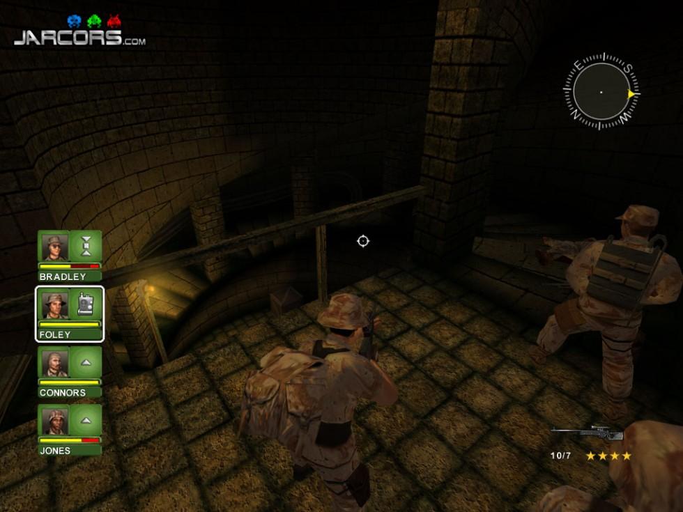 El piso inferior  de la fortaleza del final del juego parece un pequeño homenaje a Return to Castle Wolfenstein.
