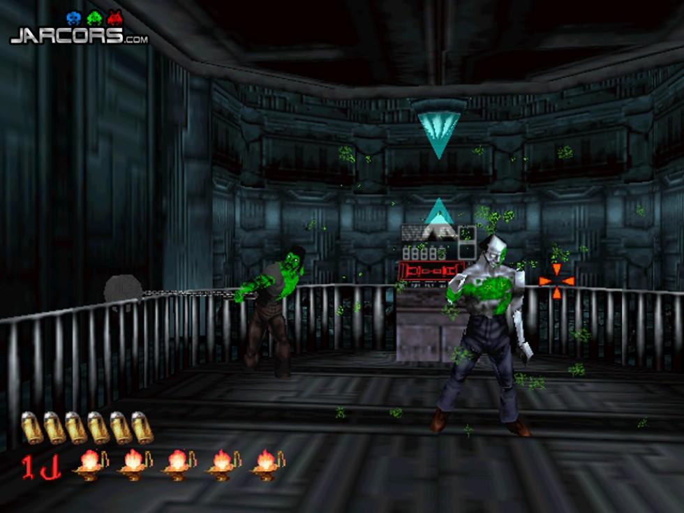 El juego también nos da la opción de cambiar el color de la sangre a rojo; así que para gustos, colores