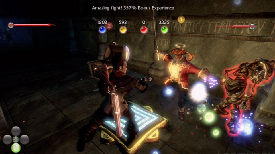 Los enemigos soltarán orbes de distintos tipos.
