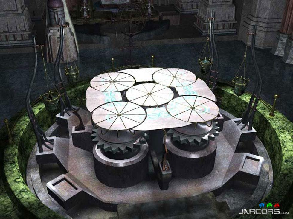Cada mundo es una gran maquinaria compuesta por puzzles que dan forma a otro puzzle aún más complejo.