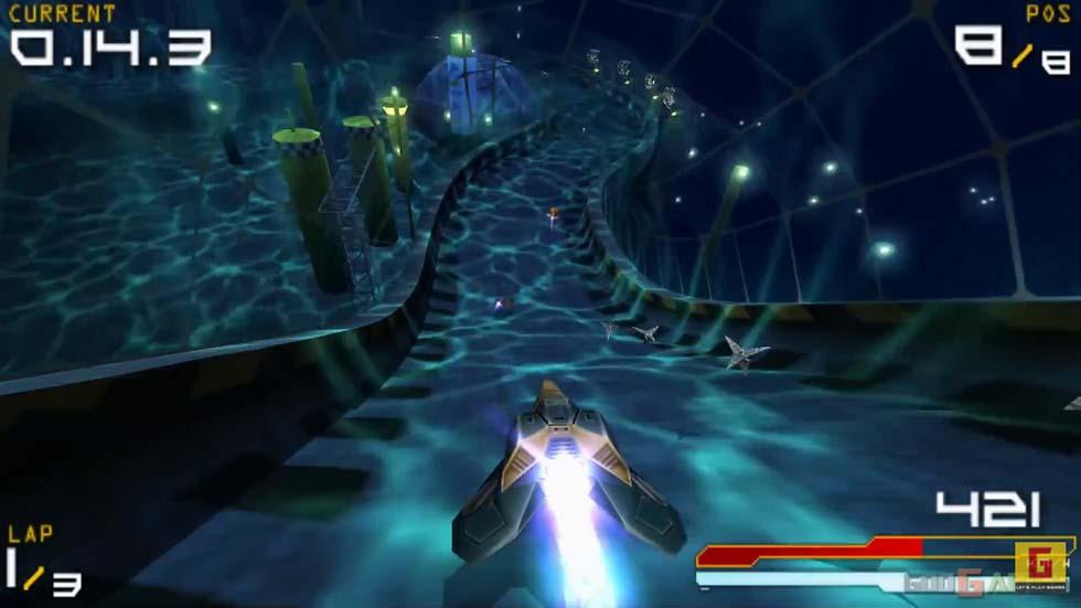 Técnicamente, está muy por delante del resto de juegos del catálogo inicial de PSP.
