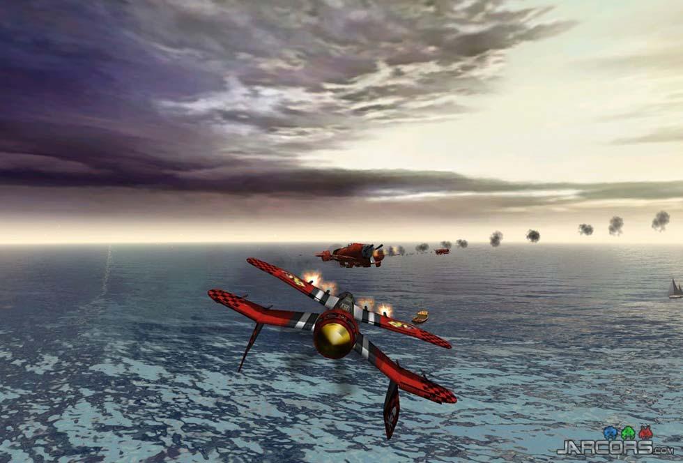 El avión inicial es muy equilibrado. Si lo mejoramos, podremos llegar hasta el final.