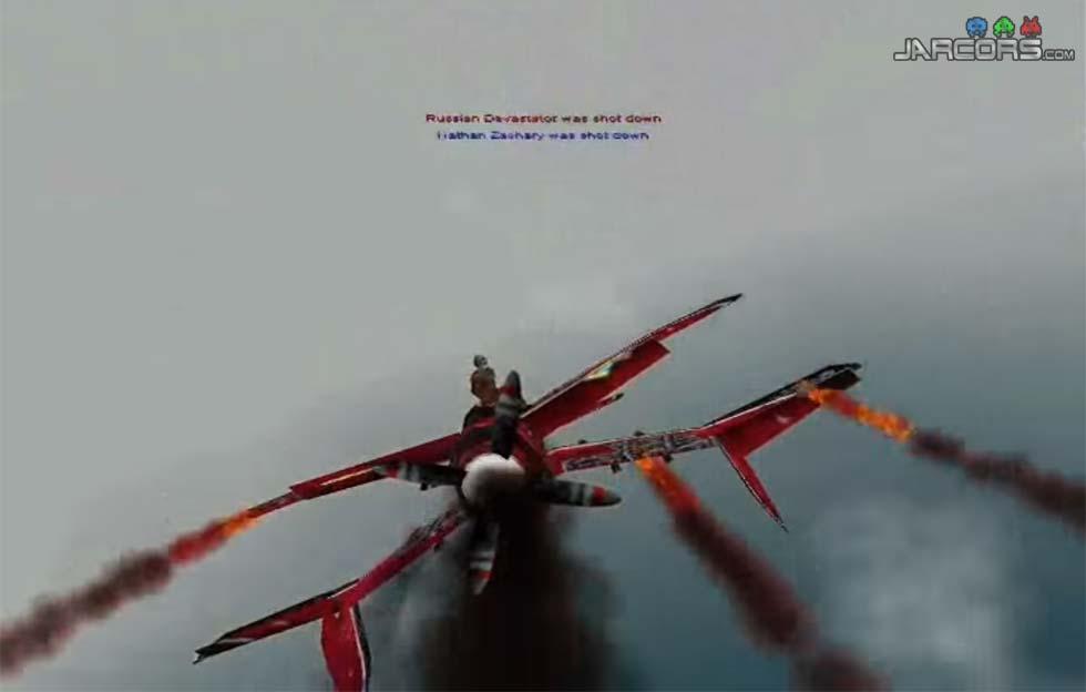 Podemos asaltar otros aviones en pleno vuelo para hacernos con ellos y, si la cosa se complica, toca saltar en paracaídas.