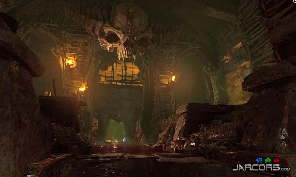 El arquitecto de este lugar puede dormir tranquilo; los demonios y demás criaturas del inframundo se sentirán como en casa.