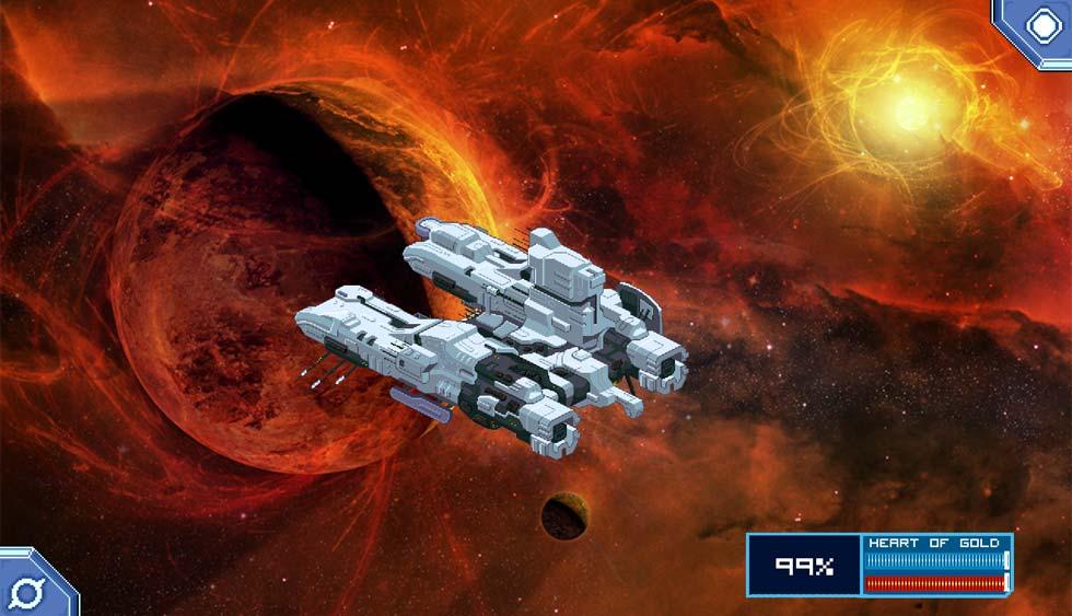 El diseño de todas las naves del juego es sobresaliente y tiene cierta personalidad propia.