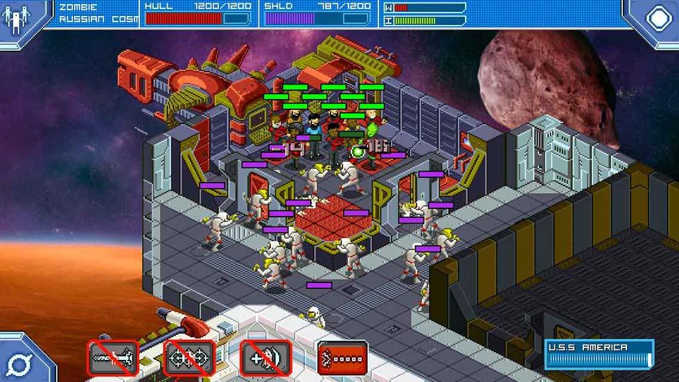 Los zombis son el enemigo más difícil del juego debido a su número y a su resistencia. Cuando descubráis la táctica de achicaros en una instalación, no volveréis a innovar.
