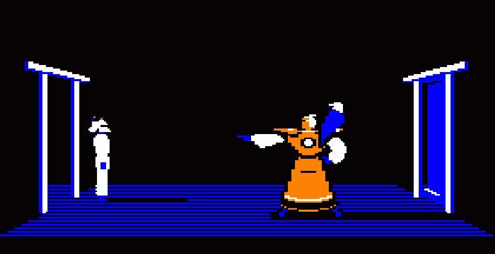Akuma nos enviará enemigos continuamente mientras nos espera con su inseparable halcón.