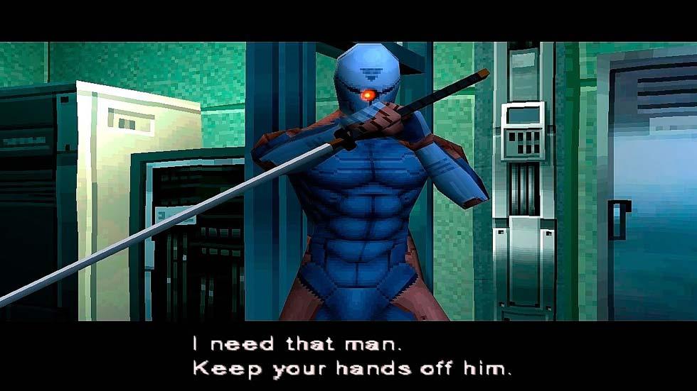 Como en toda obra japonesa, no podría faltar un misterioso ninja con espada que además se hace bueno antes de morir... y no es un spoiler, porque es lo que ocurre con todos los enemigos japoneses que no son trigo limpio.