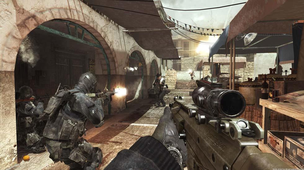 La mayoría de las misiones consistirán en combates al viejo estilo Modern Warfare, es decir, con enemigos saliendo de todas partes.