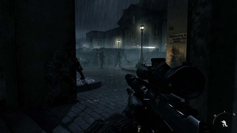 Los efectos de iluminación nocturnos, los de lluvia y los de iluminación son como el juego en sí, espectaculares.