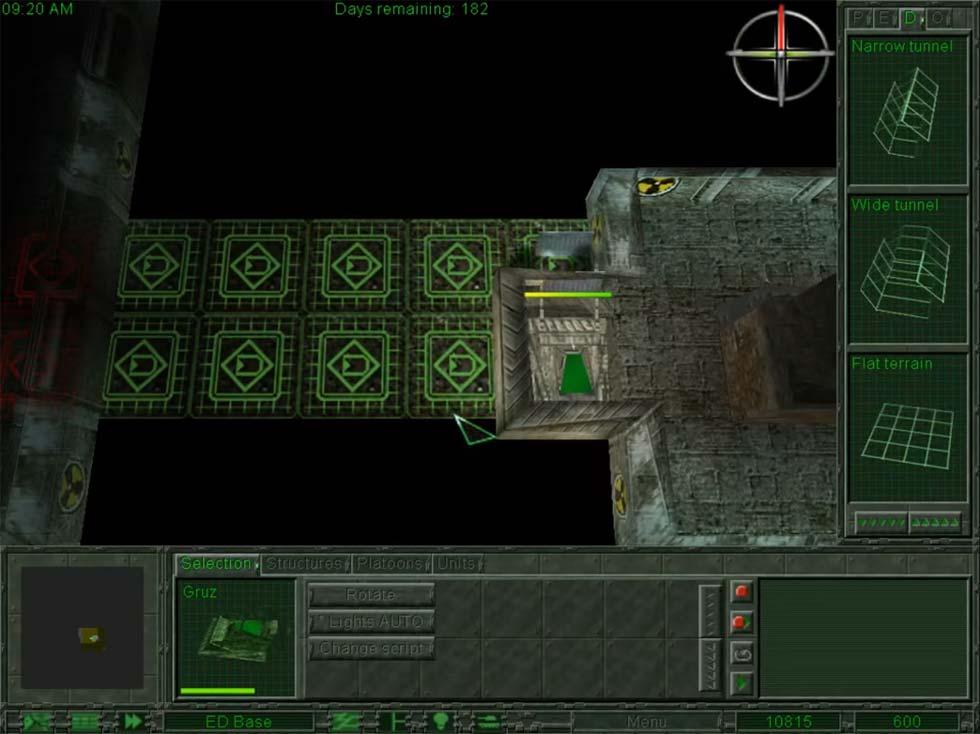 Un elemento innovador es la presencia de escenarios subterráneos mezclados con los exteriores, en un mismo mapa.