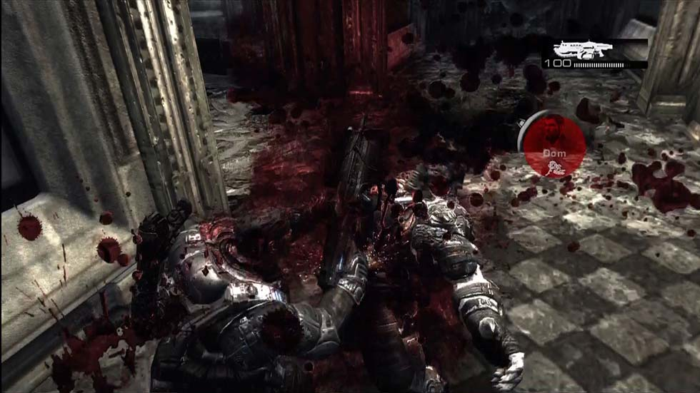 Cuando digo que el juego es violento me refiero a ésto. Para mi es un gran punto.