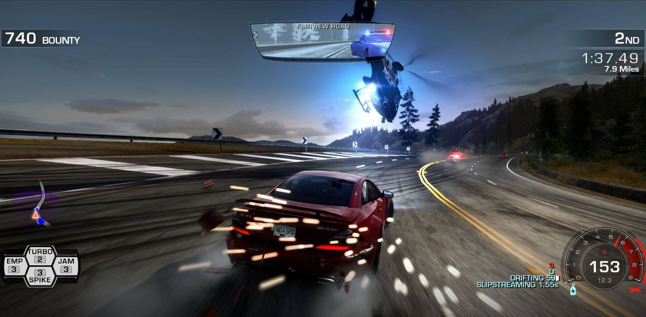 need for speed hot pursuit mapa